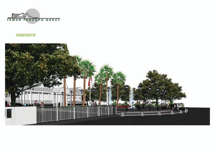 PENDOPO GARUT park:   by GUBAH RUANG studio