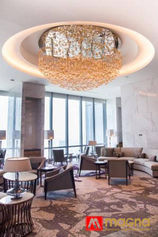 The Westin Hotel:  Living room by Magna Mulia Mandiri