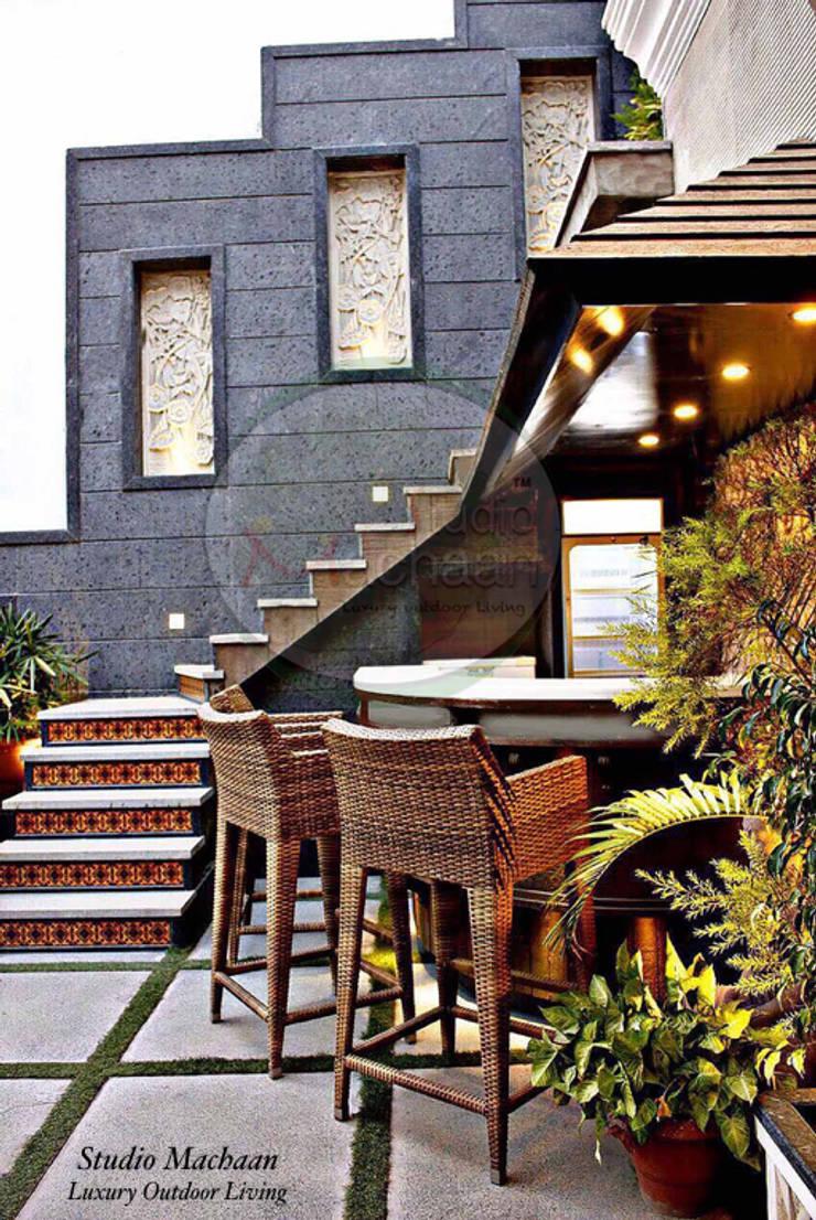 Terrace Garden Designs by Studio Machaan:  Terrace by Studio Machaan ,Modern