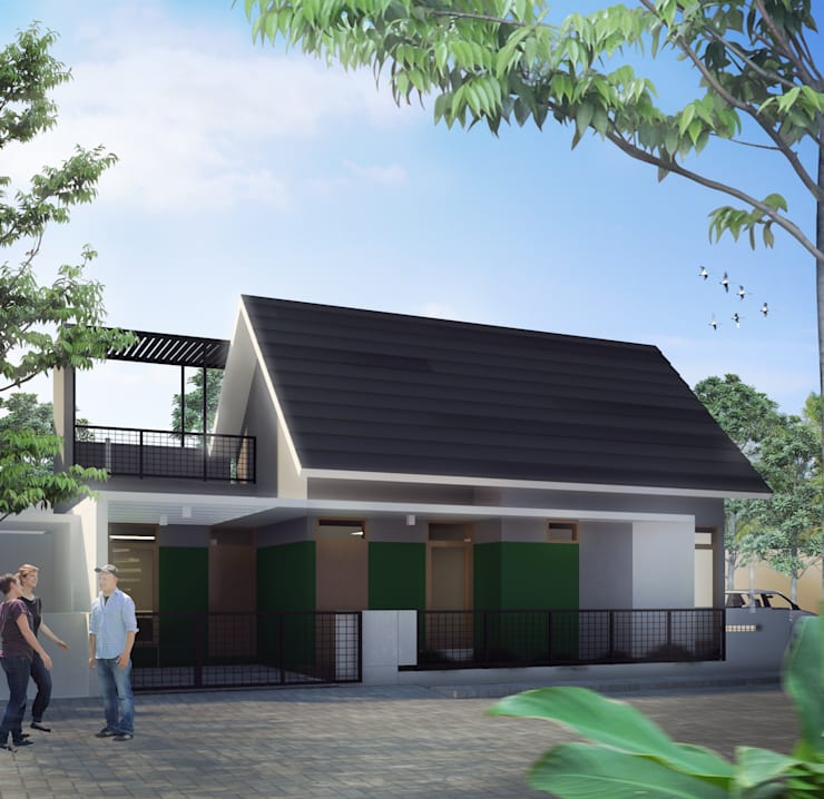 E Residence:   by GUBAH RUANG studio