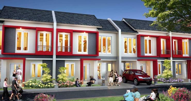 Casa Delia Residence: Garasi oleh Casa Delia, Minimalis