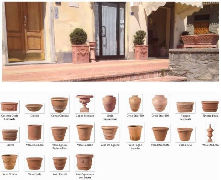 Handcrafted terracotta: product of passion - handmade terracotta pottery:   door Terrecotte Europe, Mediterraan Aardewerk
