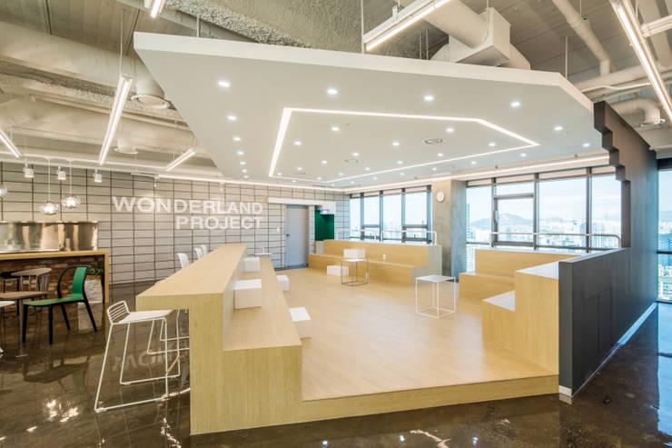 The Wonderland Project: 지오아키텍처의  회사