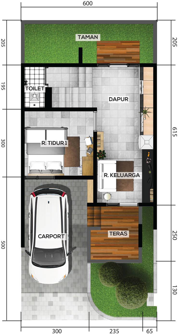 DRN Residence:   by GUBAH RUANG studio