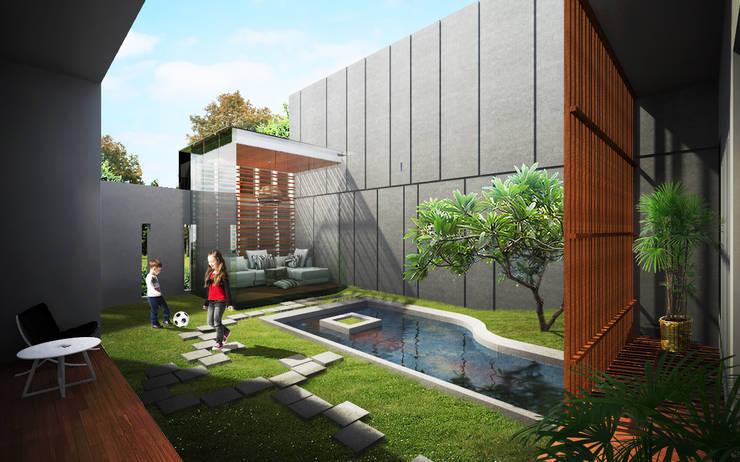 KAMANDAKA House :   by GUBAH RUANG studio
