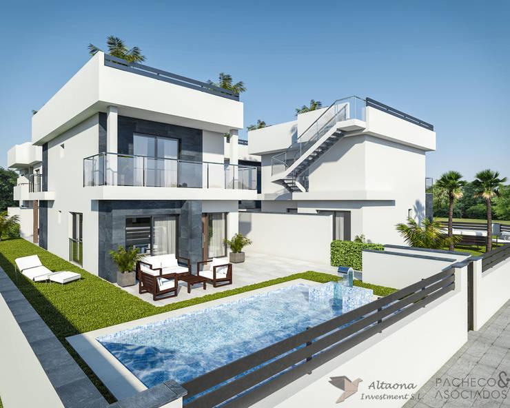 Haciendas de estilo  por Pacheco & Asociados