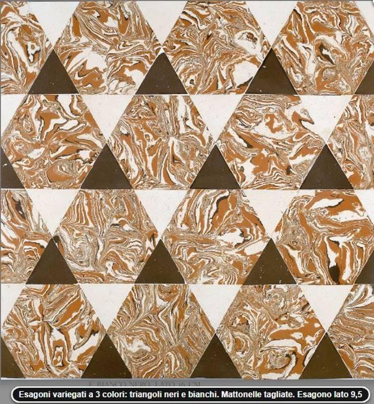Handcrafted terracotta flooring: Padania historic floors:  Musea door Terrecotte Benelux