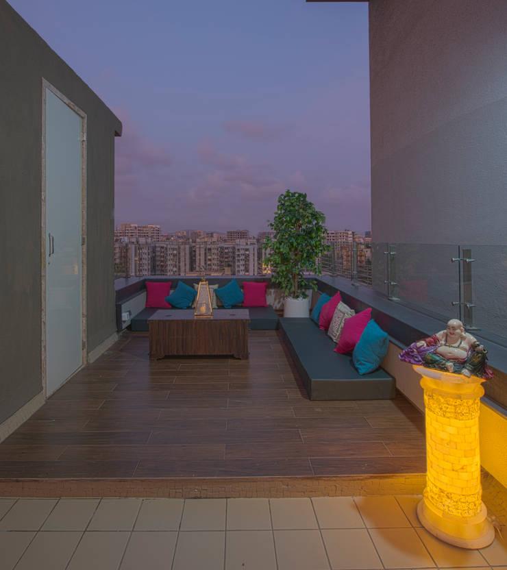 Jardin de style  par Banaji & Associates
