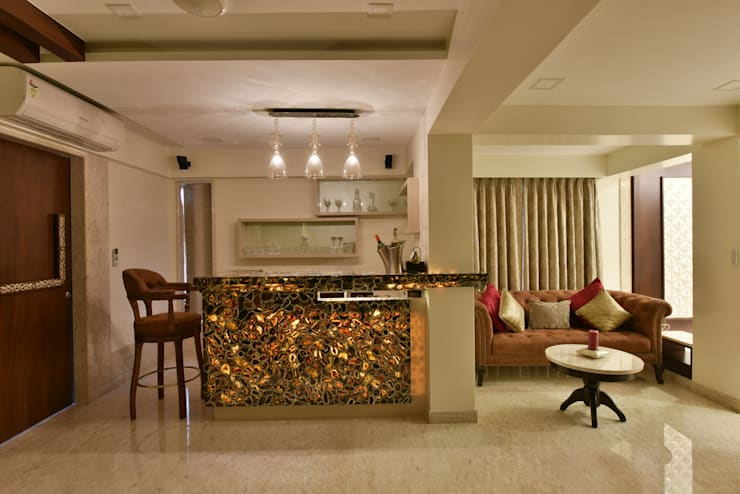 Mr. Doshi's Residence:  Kitchen by Banaji & Associates