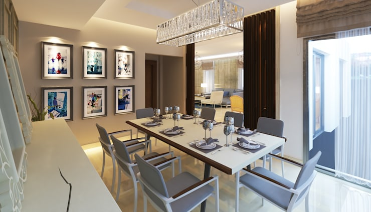 Dining room by SIGMA Designs, Modern