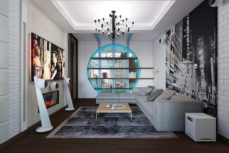 Salones de estilo  de Вира-АртСтрой, Ecléctico