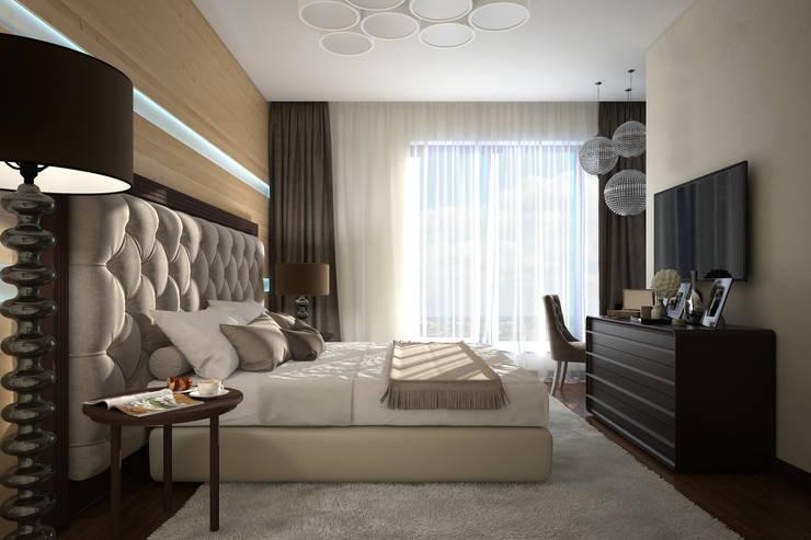 Dormitorios de estilo  de Вира-АртСтрой, Ecléctico