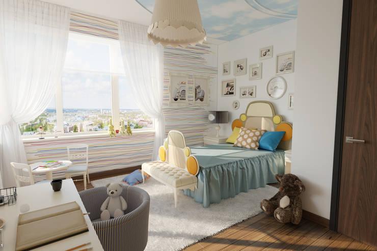 Dormitorios infantiles de estilo  de Вира-АртСтрой, Ecléctico