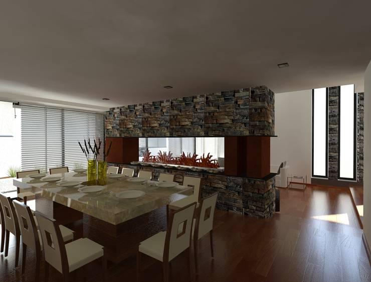 Living room by CESAR MONCADA S, Modern