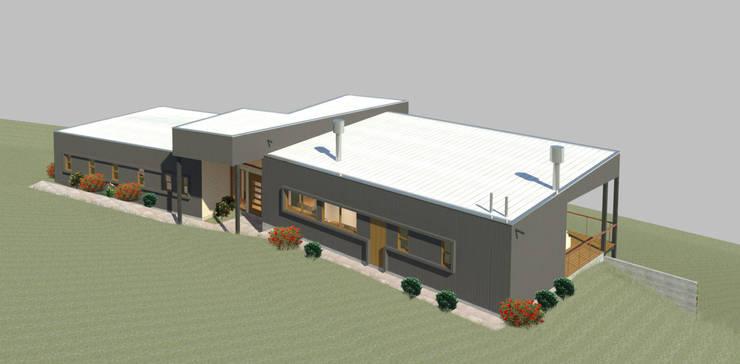 Casa Ribensahm:  de estilo  por AtelierStudio