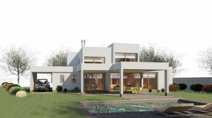 Casa Chamisero:  de estilo  por AtelierStudio