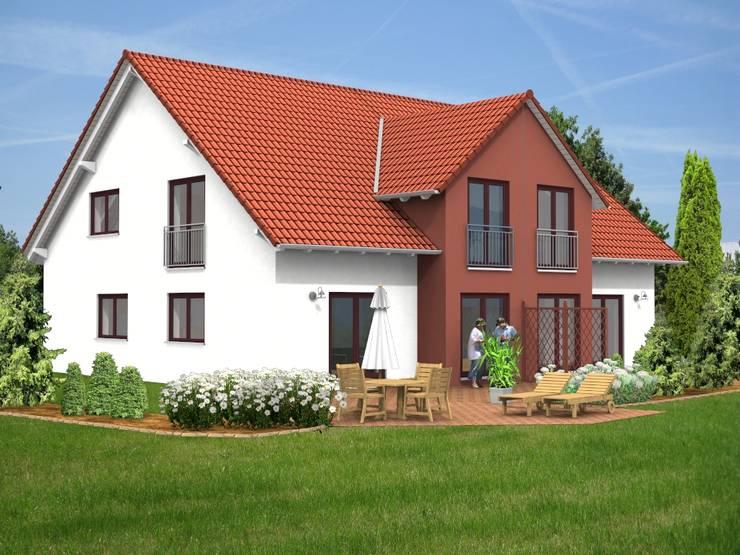 reihenhaus einrichten nachhaltiges bauwerk rustikalen elementen, 21 moderne familienhäuser im grünen, Design ideen