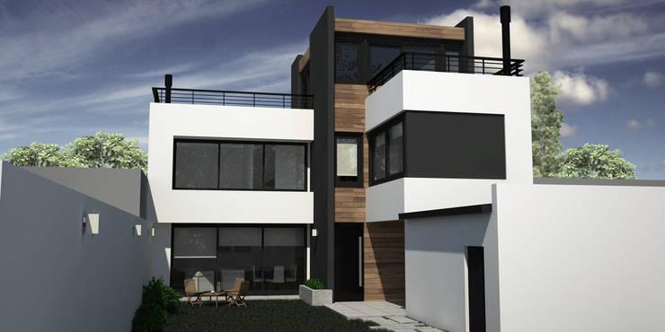 Casa RM: Casas unifamiliares de estilo  por MC Arquitectura,Moderno