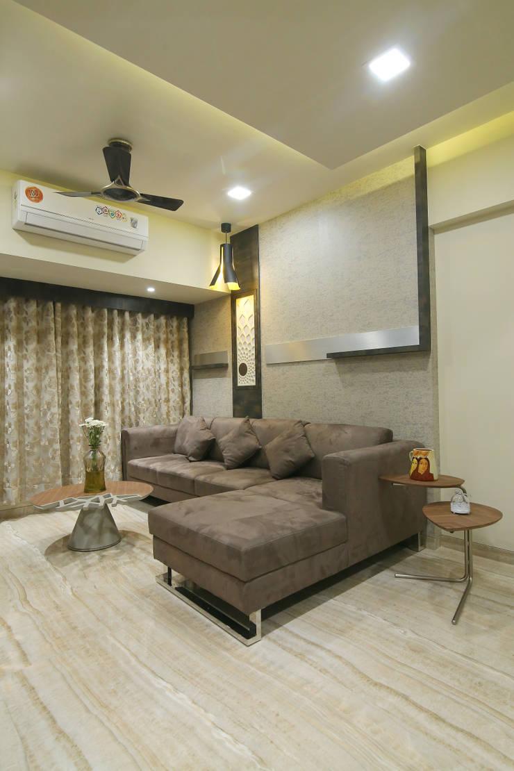 Interior 2: modern Living room by DaVi Studio