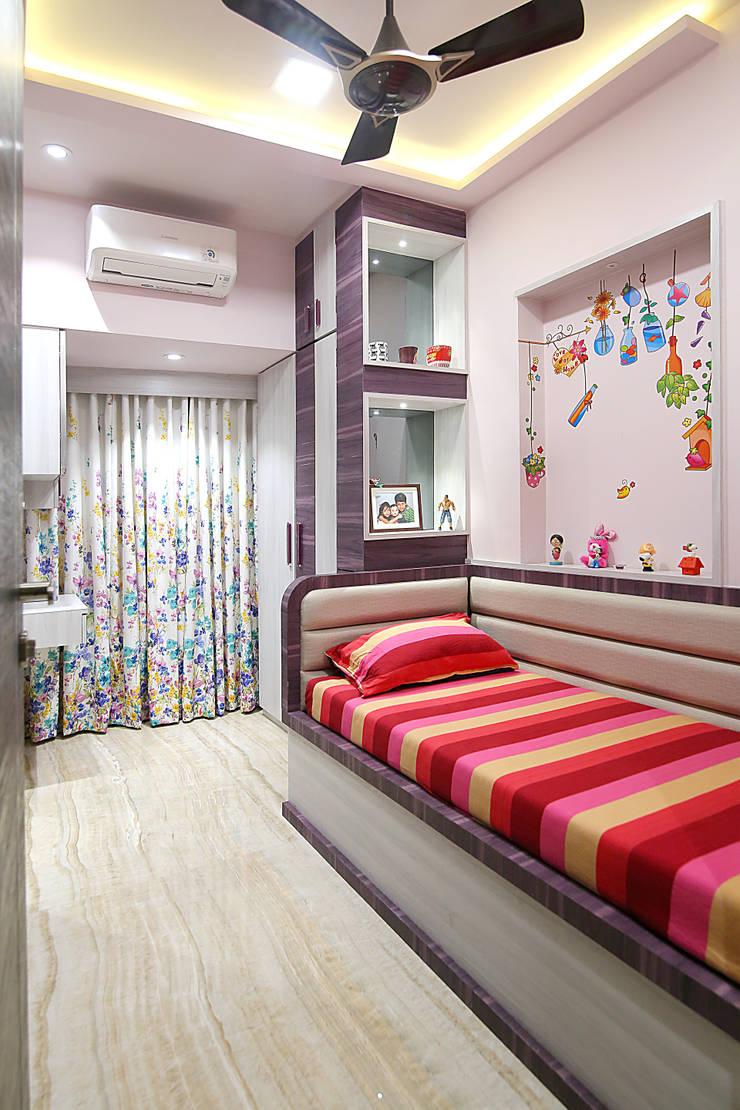 Interior 2: modern Nursery/kid's room by DaVi Studio