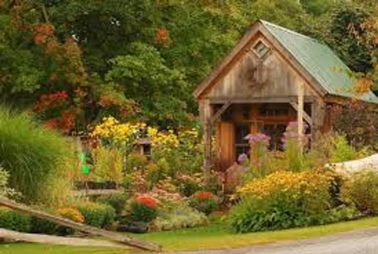 Haus: Casetas de jardín de estilo  por Carolina Torres Arzamendi