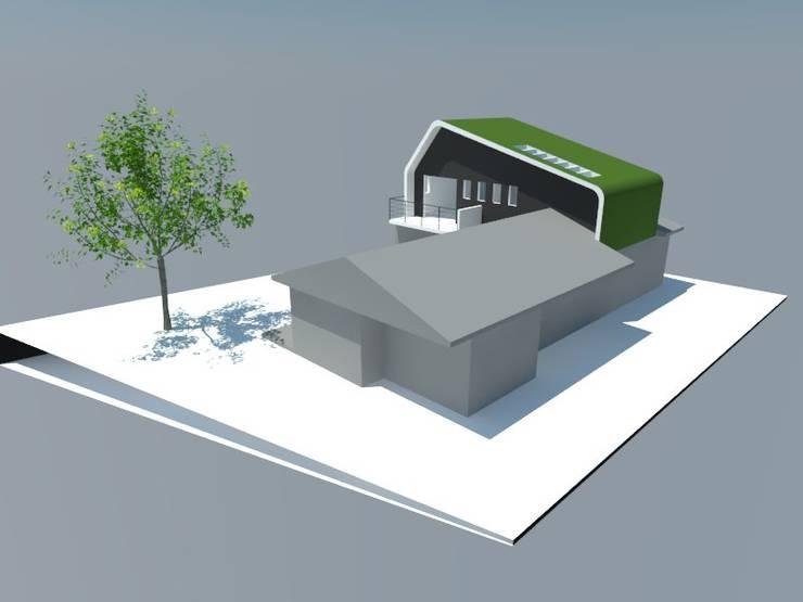 2: Comedores de estilo  por OMD Arquitectos