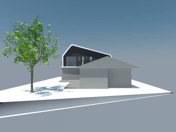 3: Dormitorios de estilo  por OMD Arquitectos