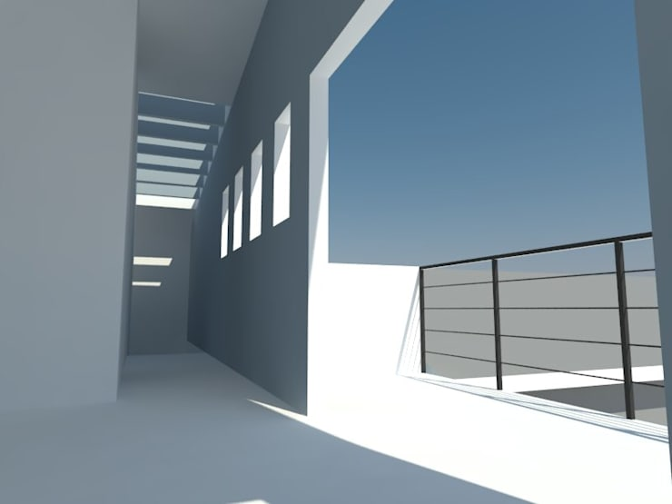 4: Dormitorios de estilo  por OMD Arquitectos