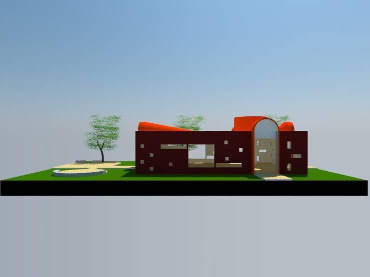4: Salas multimedias de estilo  por OMD Arquitectos
