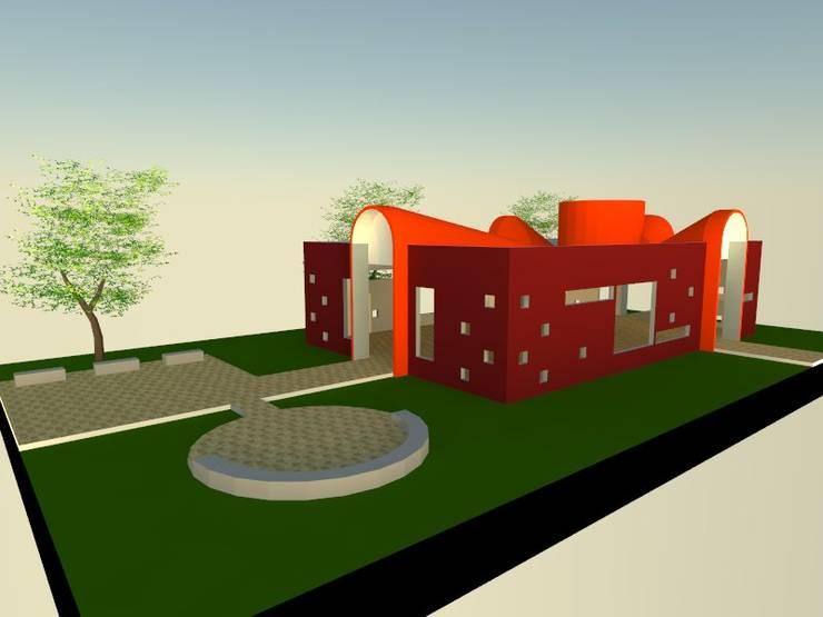 5: Salas multimedias de estilo  por OMD Arquitectos