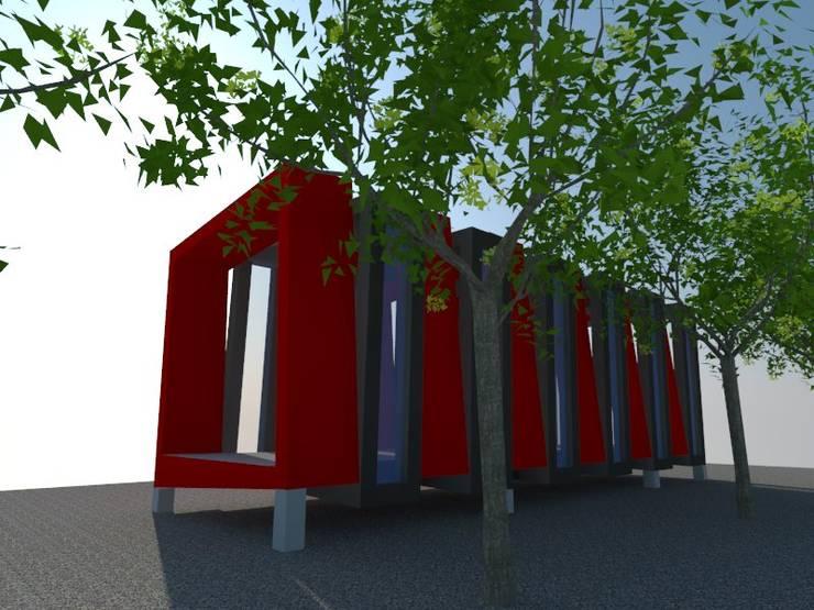 5: Estudios y biblioteca de estilo  por OMD Arquitectos