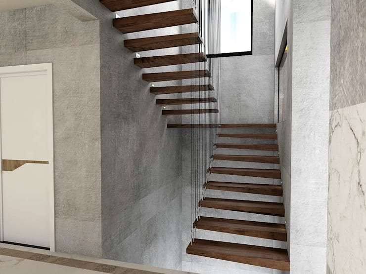 Stairs by Murat Aksel Architecture