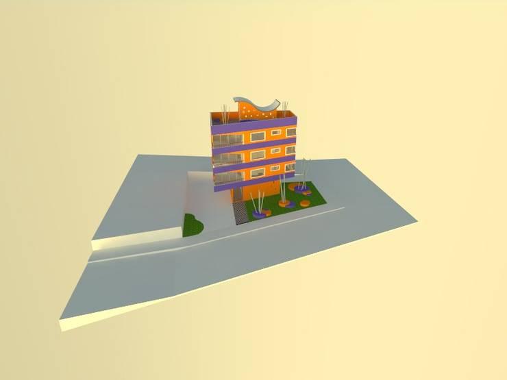 4: Viviendas colectivas de estilo  por OMD Arquitectos
