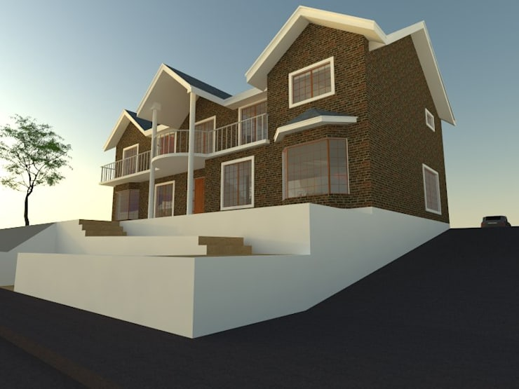 2: Casas de estilo  por OMD Arquitectos