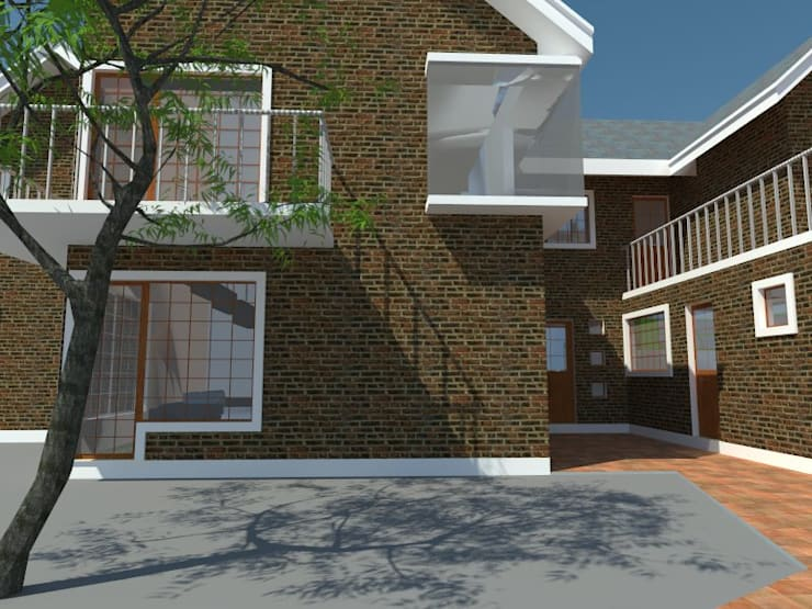 3: Casas de estilo  por OMD Arquitectos