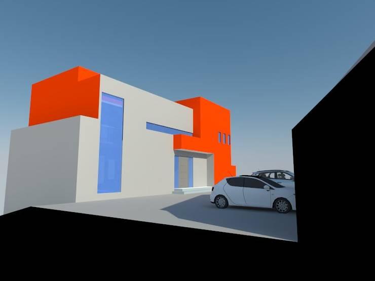 1: Casas de estilo  por OMD Arquitectos