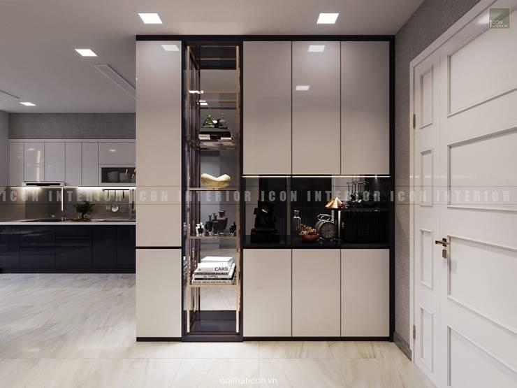 Nội thất căn hộ Vinhomes Golden River – Tòa Aqua:  Cửa bên trong by ICON INTERIOR