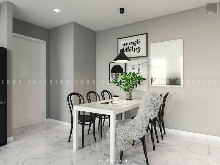 Nội thất căn hộ Vinhomes Ba Son – ICON INTERIOR:  Phòng ăn by ICON INTERIOR
