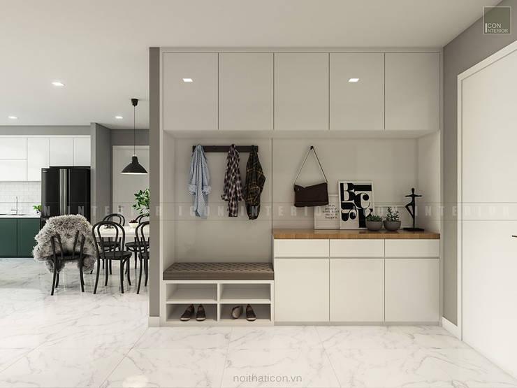 Nội thất căn hộ Vinhomes Ba Son – ICON INTERIOR:  Cửa bên trong by ICON INTERIOR