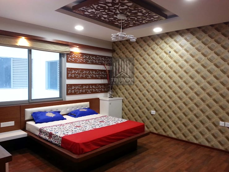 Kidsbed Room Bed : modern Bedroom by TRIUMPH INTERIORS