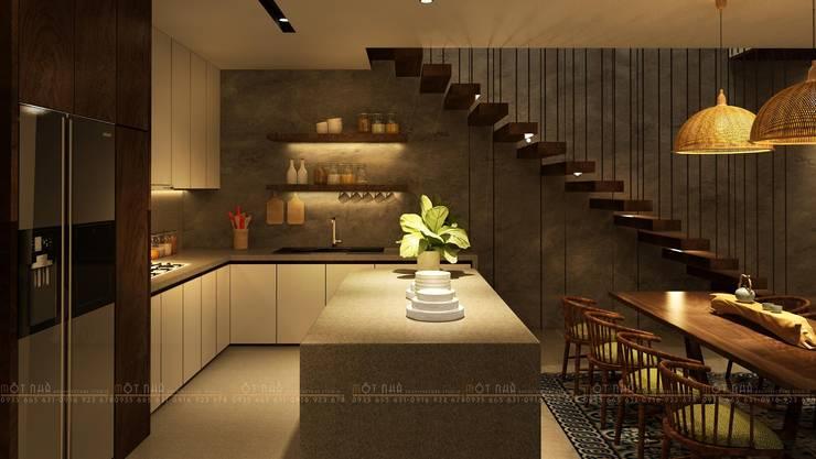 Cầu Giấy House:  Nhà bếp by Văn Phòng Kiến Trúc Một Nhà