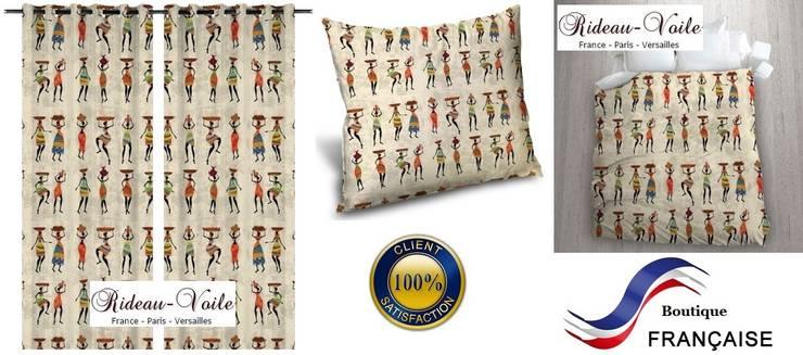 Tissu Imprime A Motifs Africain Style Wax Pagne Ankara Par Rideau