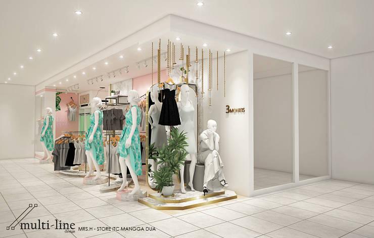 Zola Zulu Store:  Kantor & toko by Multiline Design