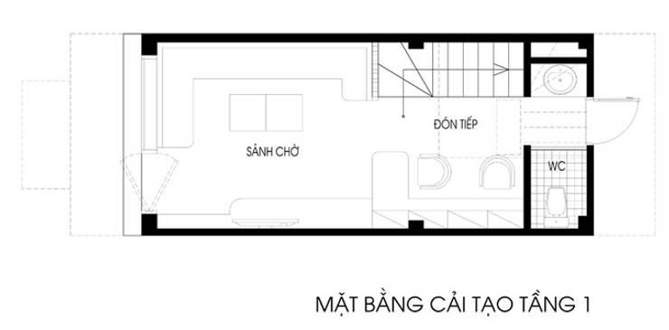 Bản vẽ thiết kế nhà phố 5 tầng:  Nhà gia đình by Công ty TNHH Xây Dựng TM – DV Song Phát