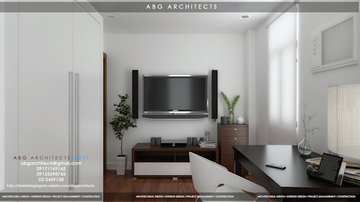ABG Architects and Associates : Interior Works Bedroom: modern Bedroom by  ABG Architects and Builders