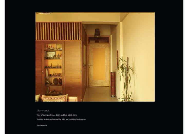 Astha emrald:  Corridor & hallway by studio18_by_sneha,Classic