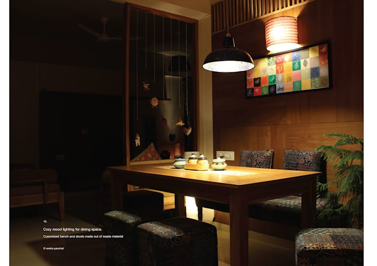 Astha emrald:  Dining room by studio18_by_sneha,Classic