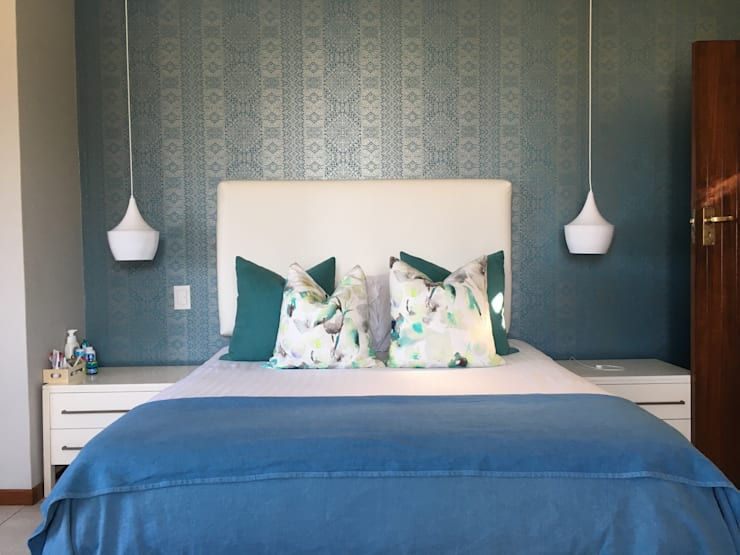 Schlafzimmer von Ground Floor Interiors | Cape Town