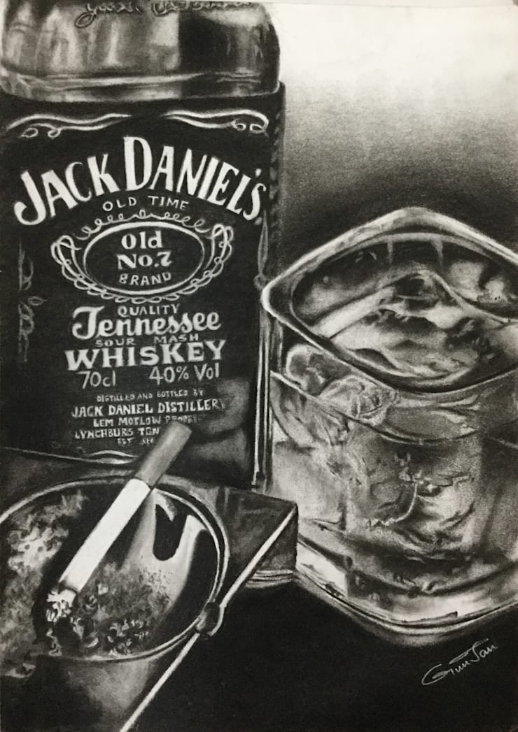 Whiskey: asian  by Indian Art Ideas,Asian