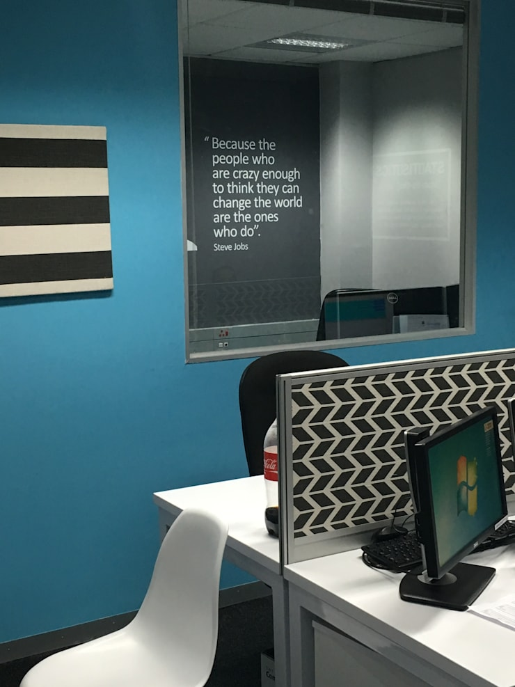 Mr Price Money—Decorating:  Study/office by Just Interior Design